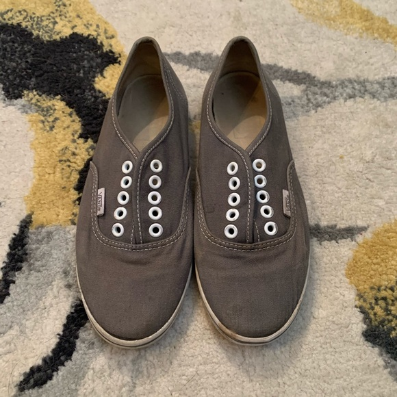 Vans Shoes | Womens Size 6 Mens 45 Grey